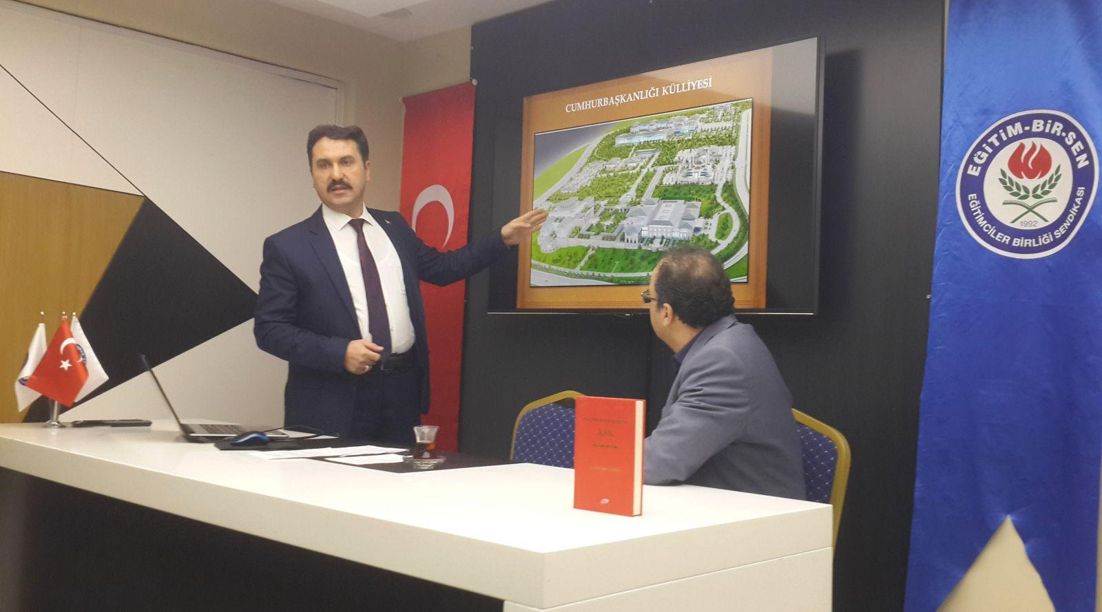 Orhan Paşazade, Millet Kütüphanesini Anlattı